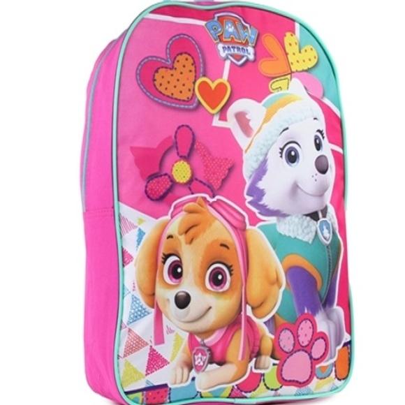 e4d44aa912 Paw Patrol Skye Everest Girls Backpack
